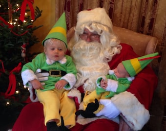 Elf Costume Buddy Outfit Baby Size Newborn to 24 months