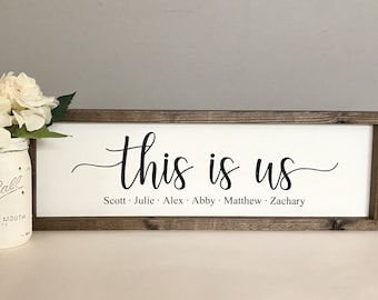 This Is Us Frame Etsy