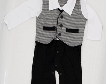 913f88796 The Tuxedo Baby and Toddler Suit