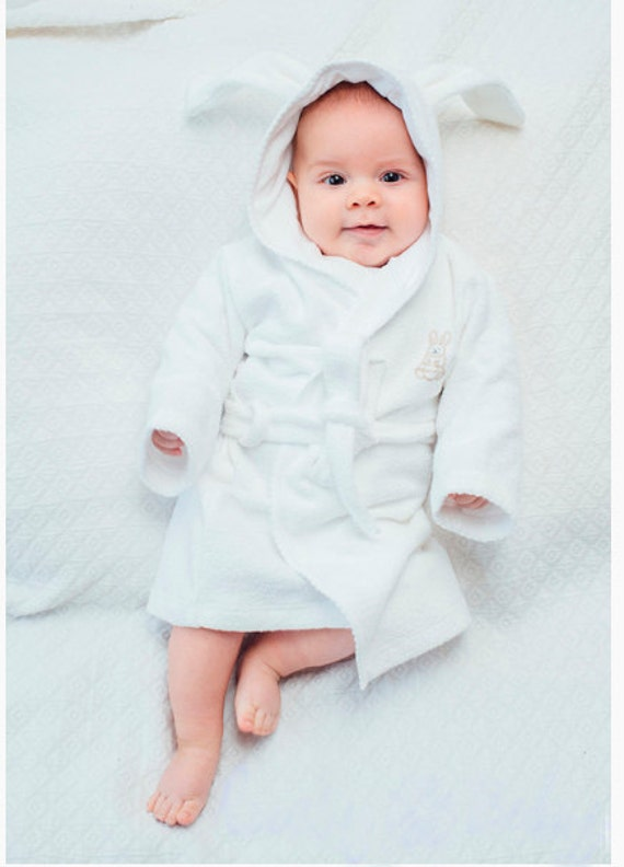 Trendy baby clothes Baby Bathrobe embroidered bathrobe baby  9e8116f7b