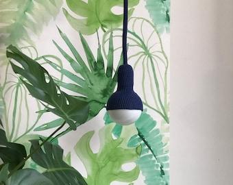 Lampe, ceiling pendant in navy blue