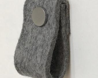 door handle in grey