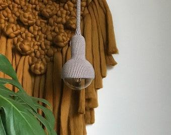 Lampe, ceiling pendant lamp in grey