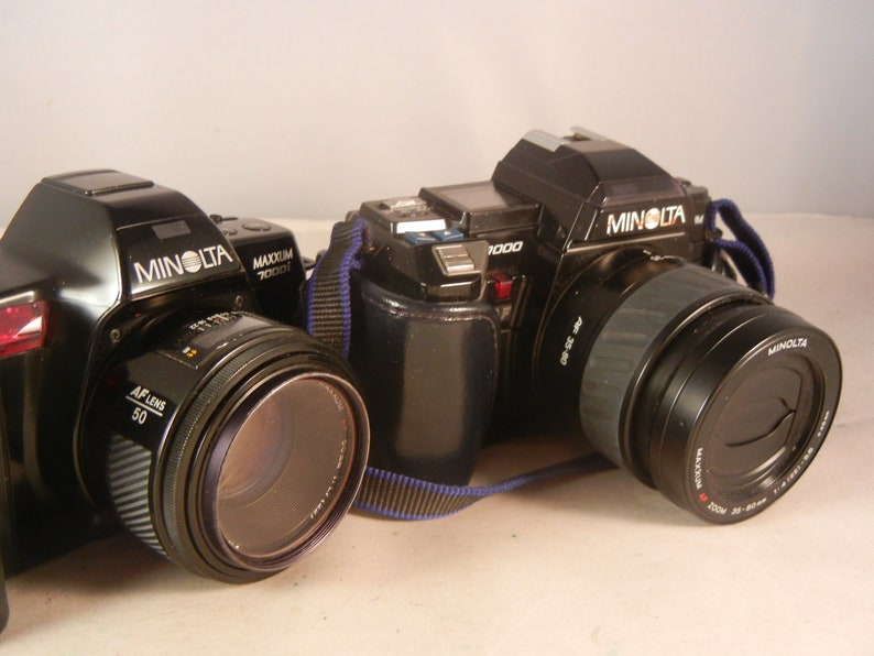 Minolta Maxxum 7000 Camera Blow Out