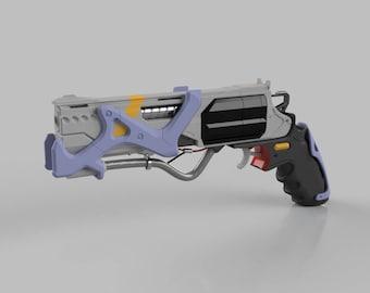 Deus Ex: Human Revolution Diamondback  357 Revolver Model | Etsy