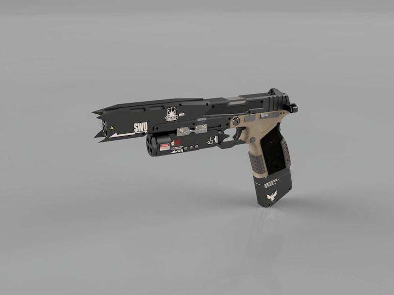 Titanfall 2 Smart Pistol Model for 3D Printing | Etsy