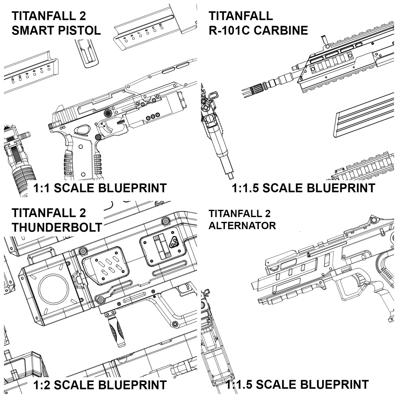 Titanfall blueprint pack alternator smart pistol r 101 thunderbolt malvernweather Gallery