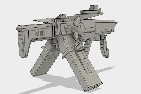 Scav Bandit Maschinengewehr Modell Fur Den 3d Druck Etsy