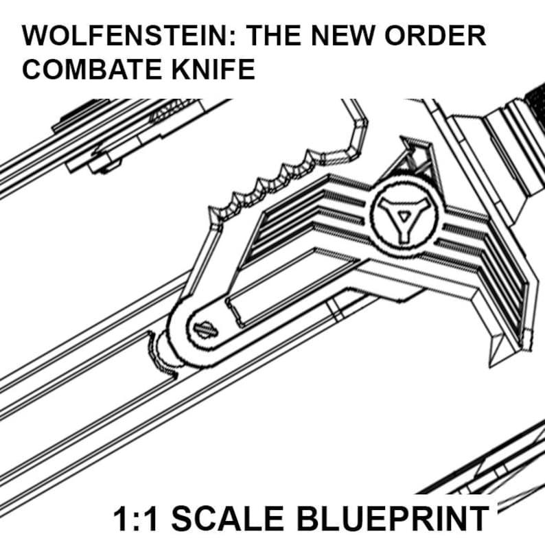 Wolfenstein Wedding Ring.Wolfenstein The New Order Knife Blueprint