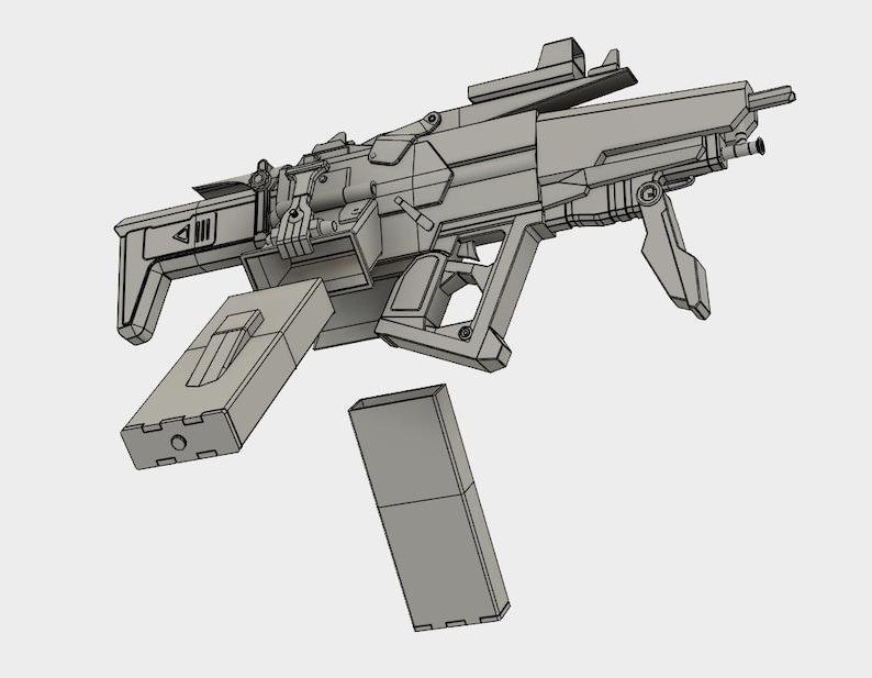 Scav/Bandit Submachine Gun - Model for 3D printing