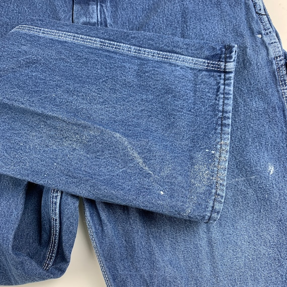 Round House Size S/M Denim Dungaree Overalls - image 6