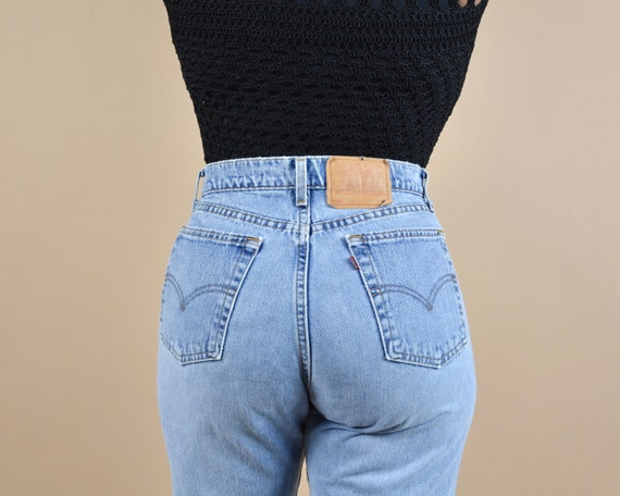 Levi's 560 Size 30 High Rise Loose Fit Straight Le