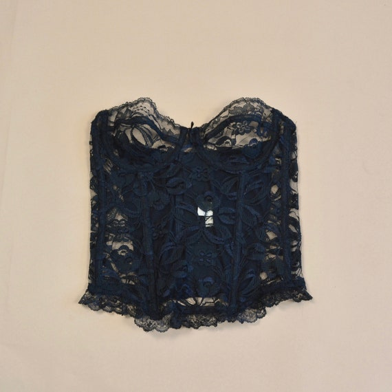 Fredericks of Hollywood Vintage 34 Lace Strapless