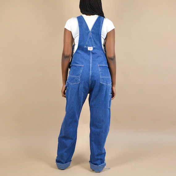 Round House Size S/M Denim Dungaree Overalls - image 3