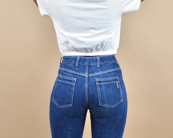 Yves Saint Laurent Size 27 Vintage Denim 70s/80s … - image 1
