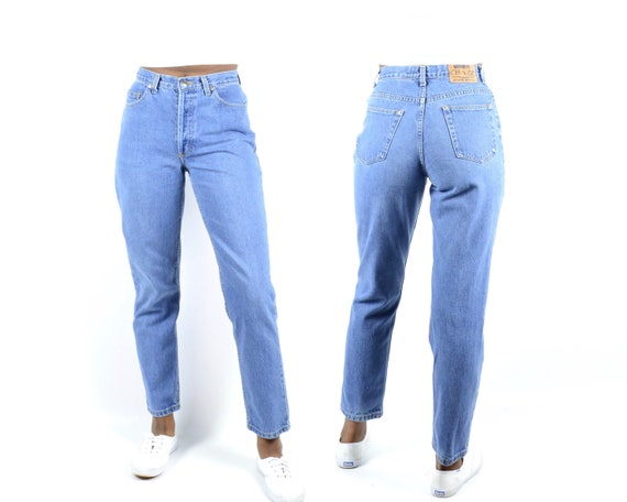 Chazz Size 26/27 High Rise Button Fly Denim Vintag