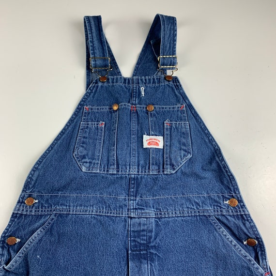 Round House Size S/M Denim Dungaree Overalls - image 4