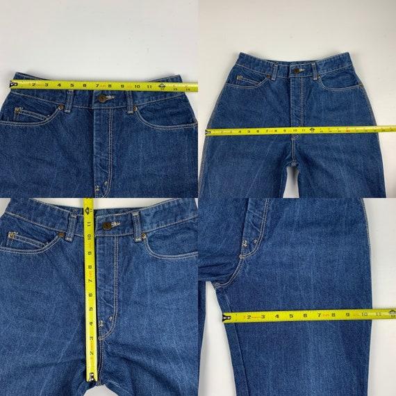 Yves Saint Laurent Size 27 Vintage Denim 70s/80s … - image 9