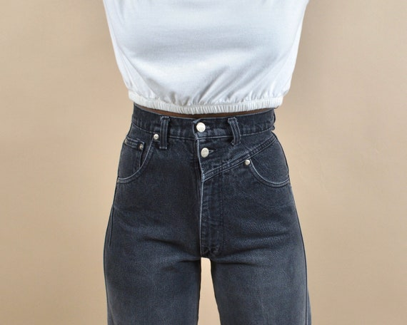 Panhandle Slim Size 25 High Rise Vintage Denim Wes