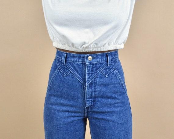 Wrangler Size 25 High Rise Vintage Denim Jeans