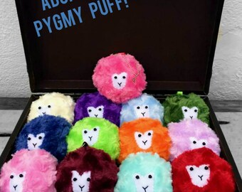 Pygmy Puff Plushie, Witch or Wizard Pet, Magical Creatures