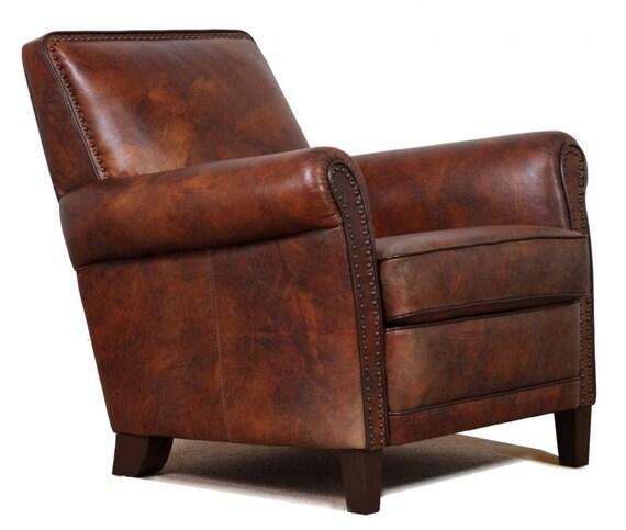 Outstanding High End Genuine Leather Accent Chair Club Chair Cigar Chair Spiritservingveterans Wood Chair Design Ideas Spiritservingveteransorg