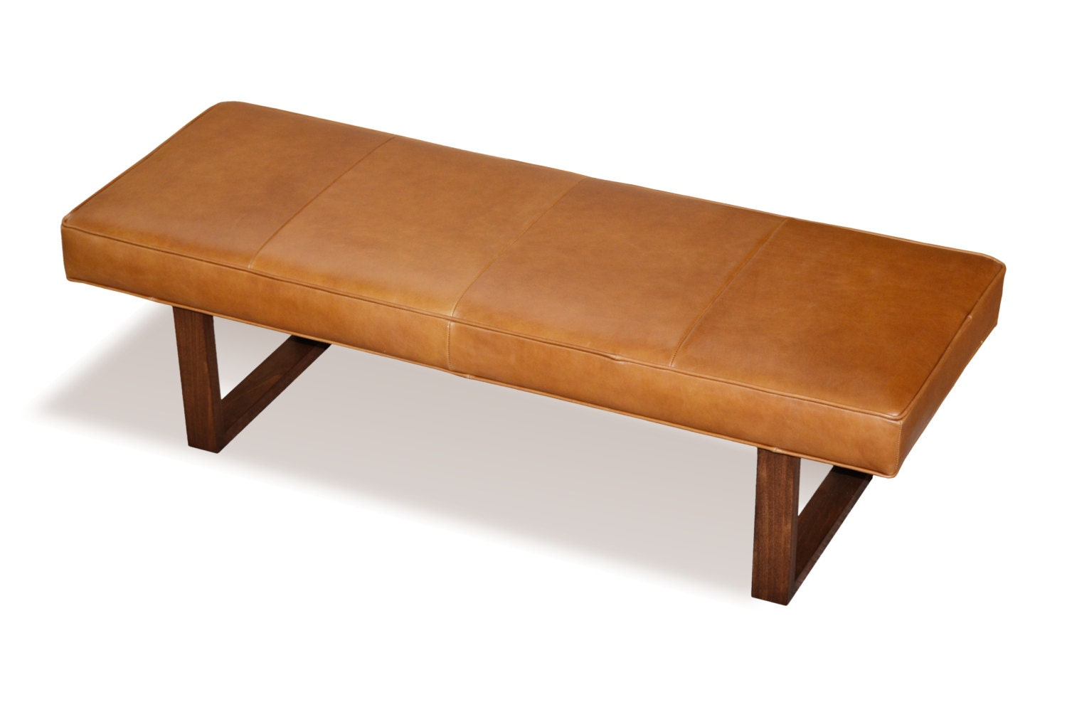 Distressed Leather Ottoman Coffee Table.Distressed Brown Genuine Leather Upholstered Bench Ottoman