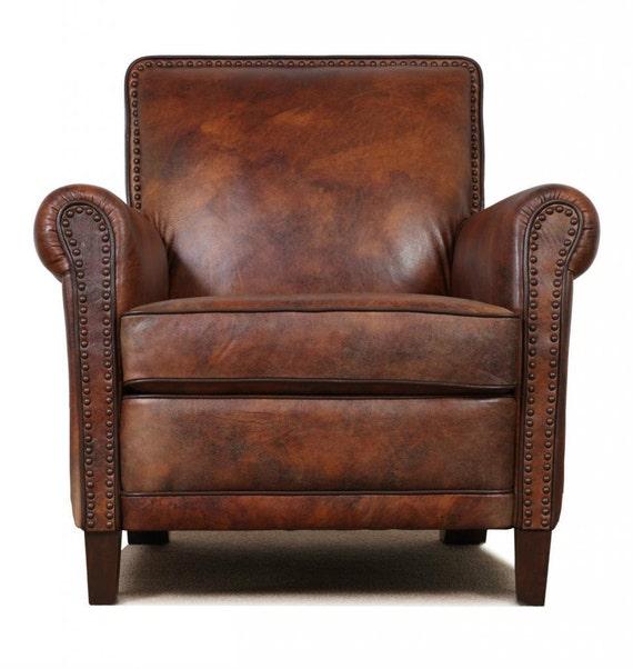 Super High End Genuine Leather Accent Chair Club Chair Cigar Chair Spiritservingveterans Wood Chair Design Ideas Spiritservingveteransorg