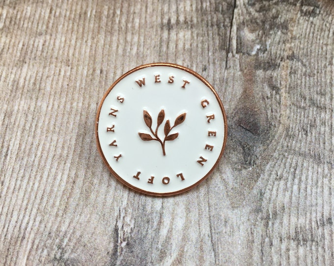 New WGLY Enamel pin 25mm - 1inch
