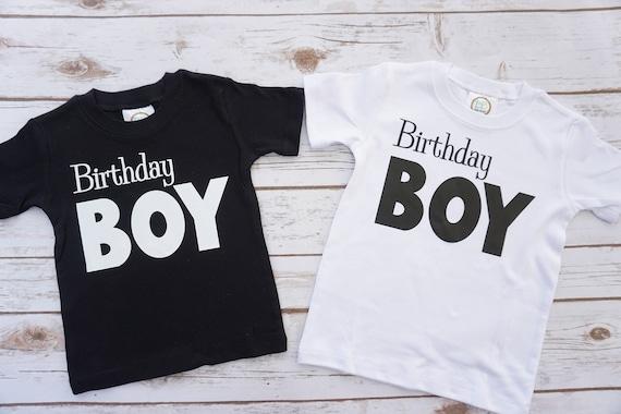 Birthday Boy Shirt First Boys T