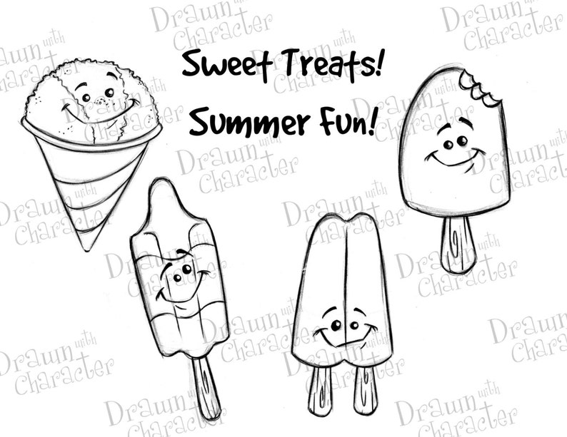 Summer Fun Items Popsicles Bomb Pop Chocolate Popsicle image 0