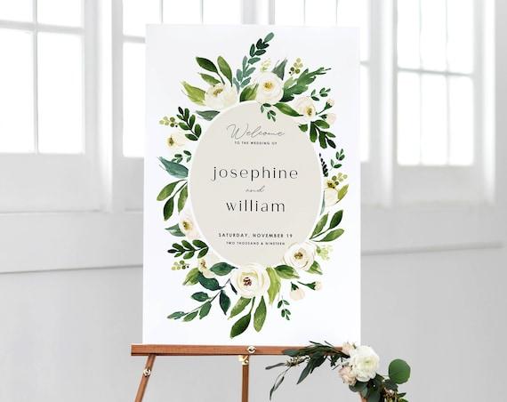 Floral Wedding Invitation Template Printable Watercolor Plum Greenery Invite Instant Download Editable Shower Invitations Juliet Templett