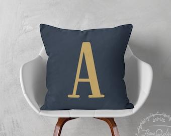 Monogrammed pillows monogram pillow decorative throw pillow cover pillow throw pillow monogrammed pillow cover