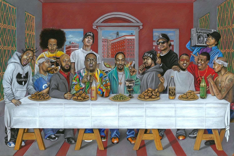 Rap ist Abendmahl 12 x 18 Drucken | Etsy