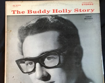The Buddy Holly Story, CRL 757279, LP 1968  Vintage LP Vinyl Record Rock&Roll Rockabilly Music