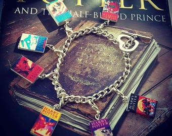 Harry Potter books Charm Bracelet