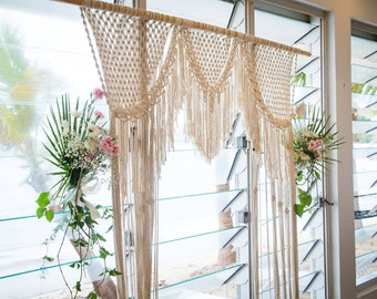 Macrame Wedding Arch- Large Macrame Wall Hanging- Made to Order Macrame- 3mm Macrame- Macrame Rope- Macrame Wedding Decor- Cord- Rope