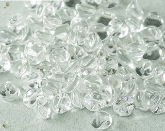 Button Bead® Crystal 4mm bead, 50 pcs, hanging cellophane bag