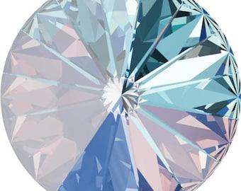 Swarovski OCEAN DELITE Crystal: Chaton 1088/39ss - 6 or 12 pcs; Rivoli 1122/12 or 14mm - 4 pcs ~ Choose item and quantity from dropdown
