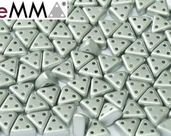 eMMA® Bead METALLIC SILVER, 3x6 mm, 50 beads