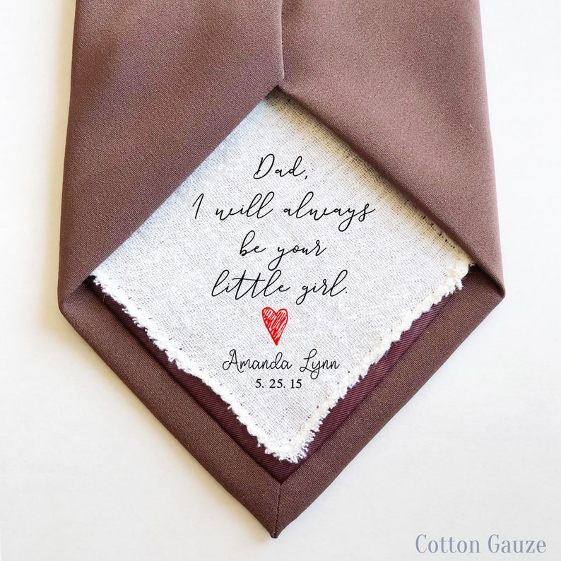 tie patch father of the bride tie patch square tie patch wedding