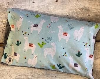 Baby buckwheat scales pillow, lamas, alpaca