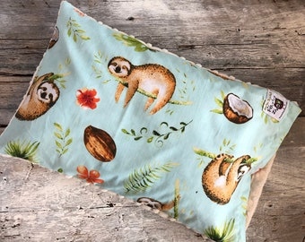 Baby buckwheat scales pillow, sloth