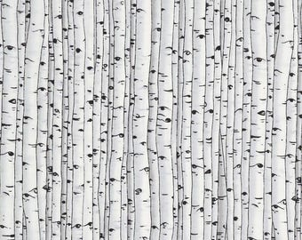 Birch trees baby fitted sheet , crib sheet, baby crib fitted sheet
