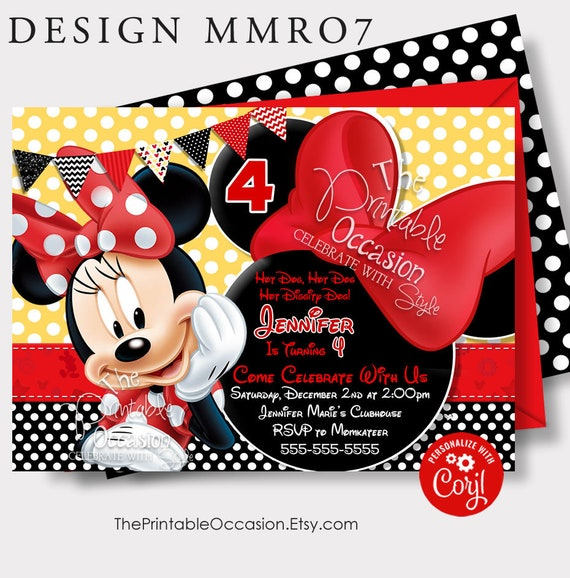 Minnie Mouse Invitation Template from i.etsystatic.com