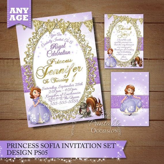 Princess sofia birthday invitation princess photo invitation etsy princess sofia birthday invitation princess photo invitation sofia the first birthday invitation princess sofia invitation princess filmwisefo