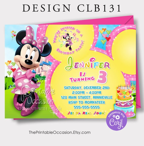 Mickey Mouse Clubhouse Invitation Template from i.etsystatic.com