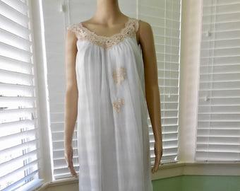 65074f1c5 Vintage CHIFFON BABYDOLL ARISTOCRAFT Chiffon Nightgown 60s Negligee Light  Blue Chiffon Chiffon Teddy Short Babydoll 60 Lingerie Medium-Large
