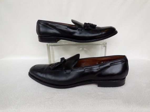 735859e0499 Mens BLACK Shoes ALLEN EDMONDS Mens Dress Shoes Black Leather