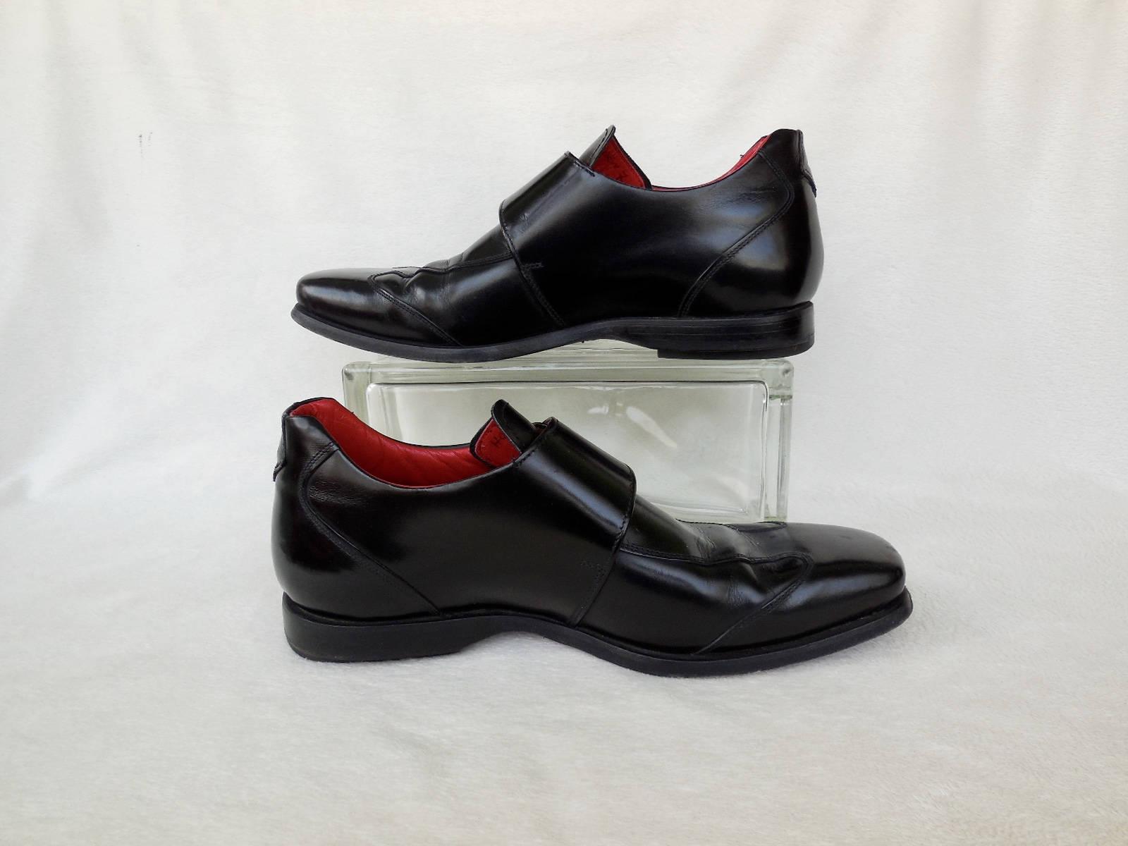 MOD Beatnik Shoes/JEFFREY WEST/Monk Shoes/Rockabilly/Punk Strap/Mens Dress Shoes/Preppy Dress Shoes/Rockabilly/Punk WEST/Monk Rocker/Mister Lucky/Mens Size 8/Made N Italy a91779